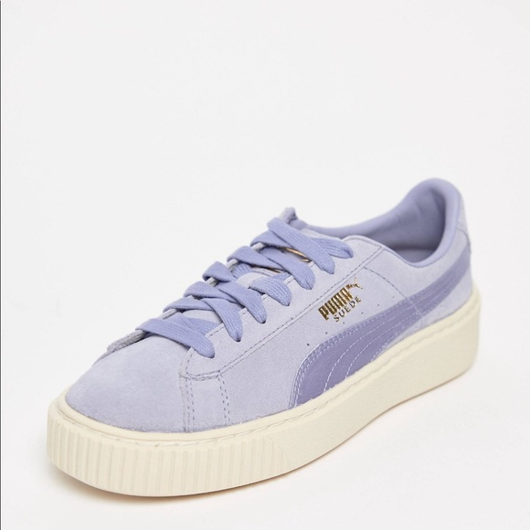 new collection 2019 original to buy New Puma suede platform sneakers 6.5 Boutique